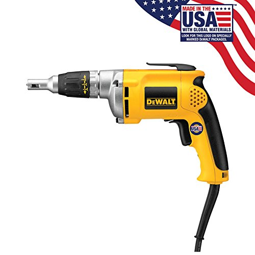 DEWALT Drywall Screw Gun, 6.3-Amp (DW272) (Renewed)…