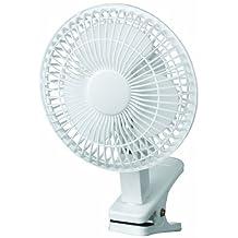 6in Clip-on Fan White