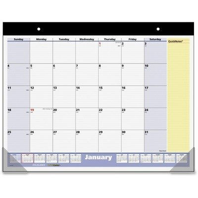 (At A Glance QuickNotes Monthly Desk Pad, 2010 (SK70000) by At-A-Glance)