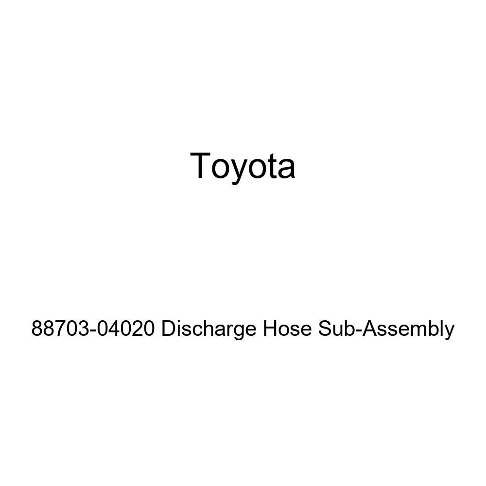 Genuine Toyota 88703-04020 Discharge Hose Sub-Assembly