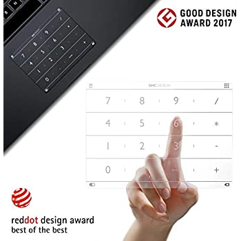 Amazon com: Nums Numeric Keypad MacBook, Wireless Number Pad