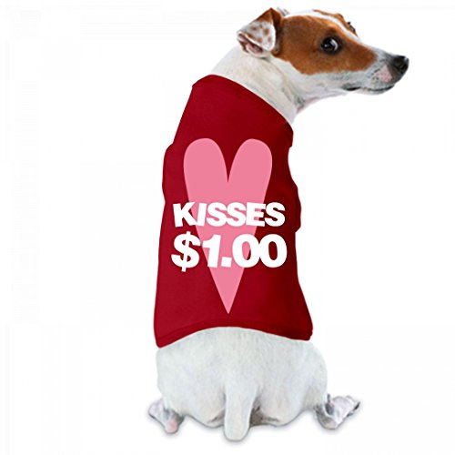 Kiss Outfits (Kisses (Licks) For A Buck: Doggie Skins Dog Tank Top)