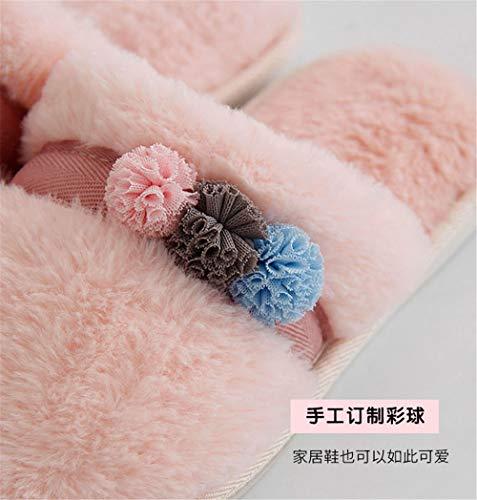 Antiscivolo Di 1 Coperta Lhxyx Pantofole Casa Memory Foam Ragazzo Ragazza Inverno Signore Calde Cotone Scarpe q6fvtw6