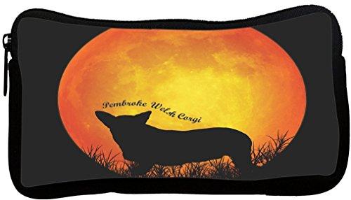 Rikki Knight Pembroke Welsh Corgi Dog Silhouette by Moon ...
