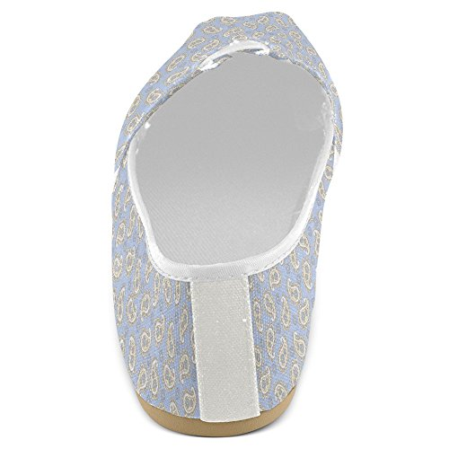 Interestprint Mujeres Loafers Classic Casual Slip On Zapatos De Moda Sneakers Flats Multi 23