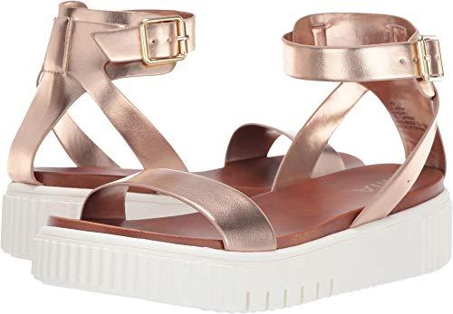 MIA Lunna Women's Sandal 7 B(M) US Rose Gold