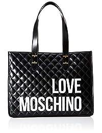 Love Moschino - Bolso bandolera, color negro