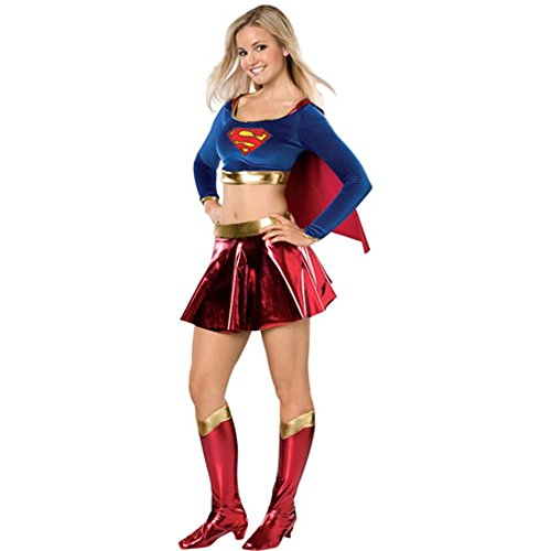 [Teen Super Girl Costume] (Supergirl Costume Size 22)