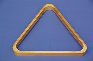 Billard Dreieck Triangel - Holz lackiert - für 57,2 mm Standard Billardkugeln