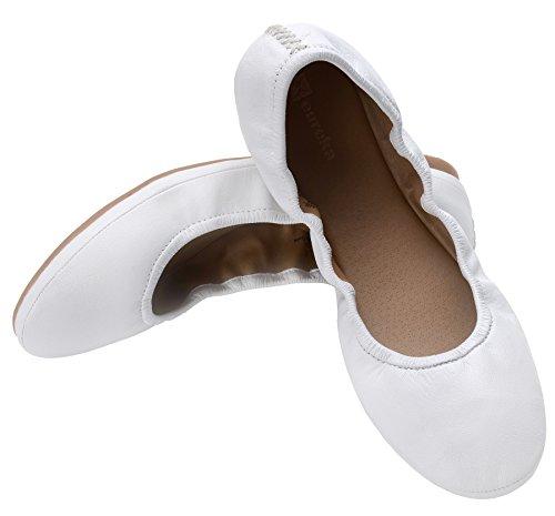 Audrey Leather - Eureka USA Women's Audrey Leather Ballet Flat