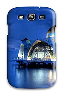 Hot Galaxy S3 Masjid Selak Melaka Print High Quality Tpu Gel Frame Case Cover