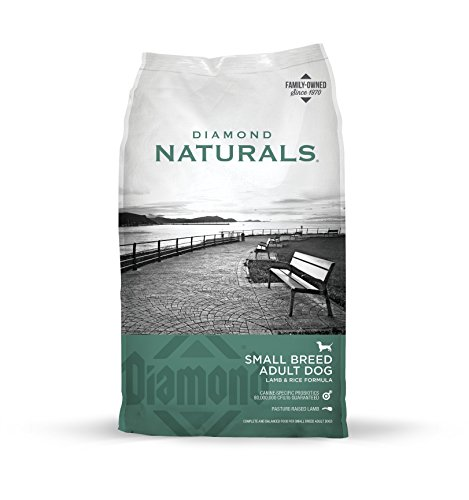 Diamond Naturals Small Breed Adult Real Meat Recipe Dry Dog Food with Natural Ingredients and Real Pasture Raised Lamb by Diamond Pet Foods