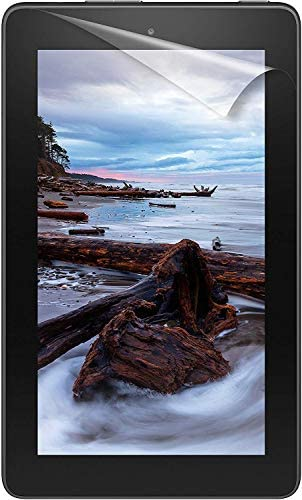 NuPro Clear Screen Protector for Amazon Fire 7 Tablet (ninth Generation - 2019 unlock) (2-Pack)