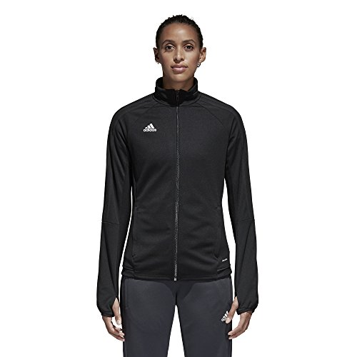adidas Womens Tiro 17 Training Jacket Black/White M