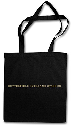 BUTTERFIELD OVERLAND STAGE CO. HIPSTER BAG �?diligencia coche Correos Mail Hateful Post Eight Stagecoach Trail Tarantino