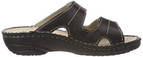 Rohde Ladies Cremona Mules Black (nero)