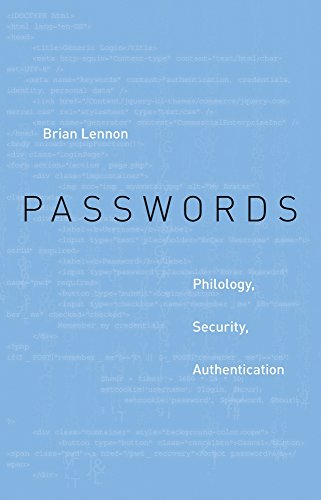 Image of Passwords: Philology, Security, Authentication