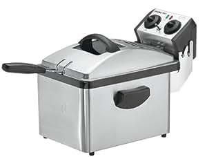 Waring DF200 Professional Deep Fryer, Brushed Stainless Steel