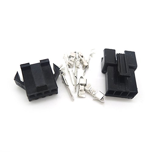 100 sets connectors SM 4Pin Pitch Female and Male Housing terminals SM-4P SM-4R JST 2.54MM SM2.54 Ogry