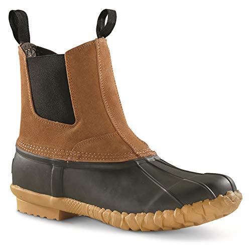 Guide Gear Pull-On Insulated Duck Boots, 400-gram, Tan, 11D (Medium)