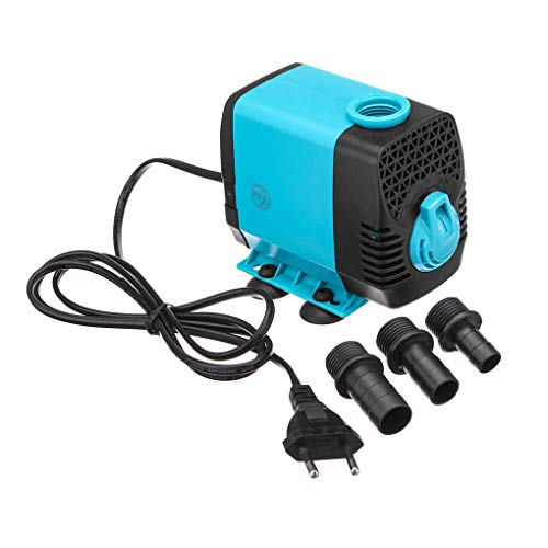 FOOL Upgraded 130 GPH (600L/H, 10W) Submersible Water Pump, 48 Hours Dry Burning Water Pump with 4.9ft (1.5m) Power -