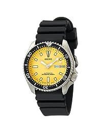 Seiko Mens SKXA35 Automatic Dive Urethane Strap Watch