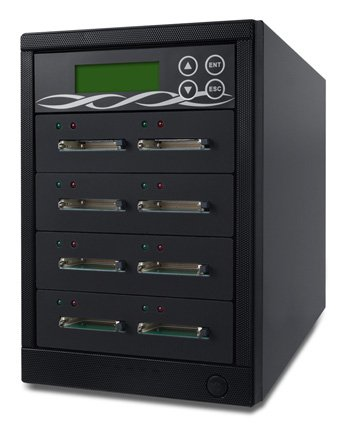 Spartan 7 Target Multiple Compact Flash/Microdrive CF Memory Card Clone Drive Copy/Duplicator (F07-ISP) by Spartan