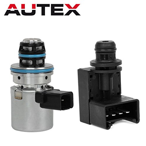 AUTEX A500 A518 46RE 47RE 46RH Governor Pressure Sensor Transducer & Solenoid Kit Compatible With 00 01 02 03 04 Jeep Grand Cherokee/00 01 02 03 Dodge Dakota Dodge Durango/Dodge Ram 1500,2500,3500