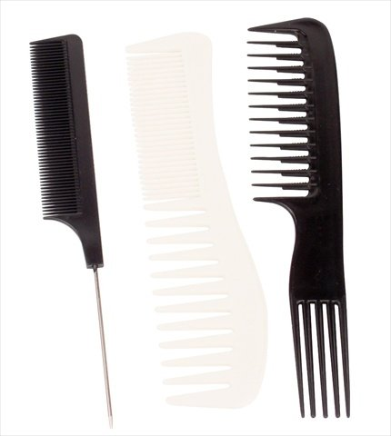 Vidal Sassoon Ionic Styling Comb Assortment Pack of 3 (Vidal Sassoon Ionic Brush)