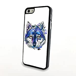 Generic Big Face Animal Leopard Print Phone Cases for iPhone 5/5S Hard Cover Matte Cases Plastic Shell Skin White Blue