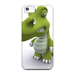 Top Quality Protection 3d Crocodile Cases Covers For Iphone 5c