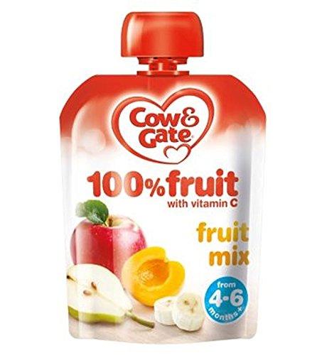 Cow & Gate Mezcla De Frutas 100% De Frutas Con Vitamina C De 4-
