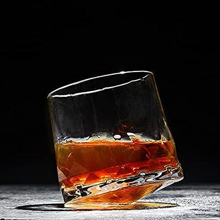 NKNVO Vasos De Whisky Vasos De Cristal Vasos Vasos Whisky Bebiendo Vasos