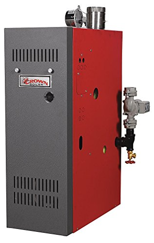 Crown Boiler - AWR105ELST2PSU - Atmospheric Vent Hot Water Boiler, LP