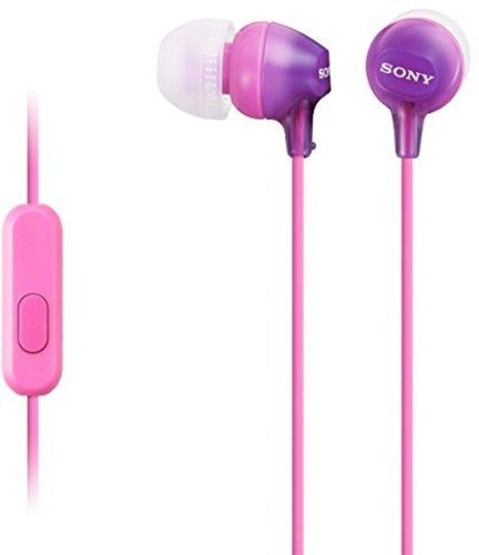 SONY MDREX15APV Fashionable Headphones Violet product image