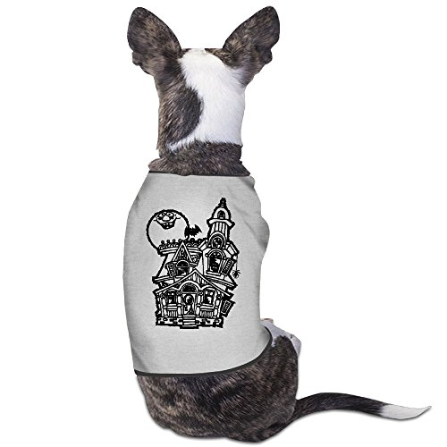 [Best Dog Costumes Haunted House Drawing Puppy Supplies] (Novel Halloween Costume Ideas)