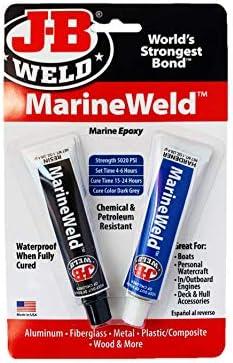 JB Weld 8272 Marina Adhesión Fuerte Como Acero