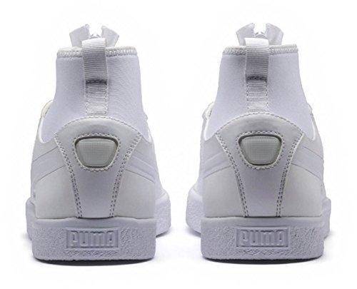 PUMA Men's Clyde Sock Rains White White 7.5 D US professional for nice cheap online Q5FLMp