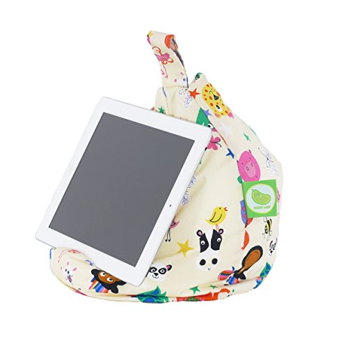 Bean Lazy Ipad, Ereader & Book Mini Bean Bag Fits All Tablets And Ereaders - Party Animals