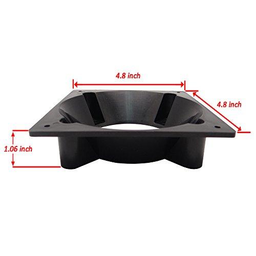 Akust Fan Mod 80mm Amp 92mm To 120mm Case Fan Adapter