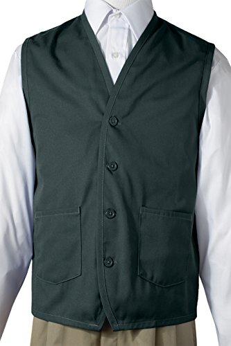 Edwards Apron Vest With Waist Pockets, HUNTER, Large