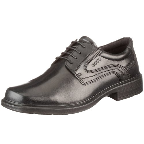 ECCO Men's Helsinki Plain Toe Dress Oxford,Black,43 EU (US Men's 9-9.5 M) Ecco Plain Toe Oxfords
