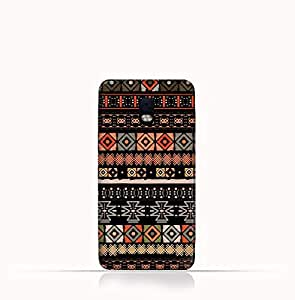 Blackberry Aurora TPU Silicone Case With Ethnic Boho seemless Pattern