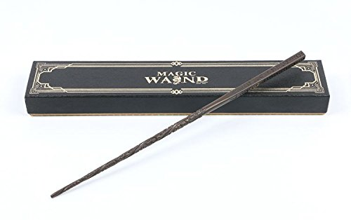 Cultured Customs Harry Potter Wand Replica - Prop Cosplay Steel Core Replica Figure + Free BONUS Deathly Hallows Collectible Trading Card (Sirius Black)