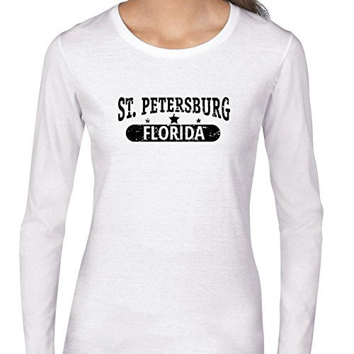 Trendy ST. Petersburg, Florida With Stars Women's Long