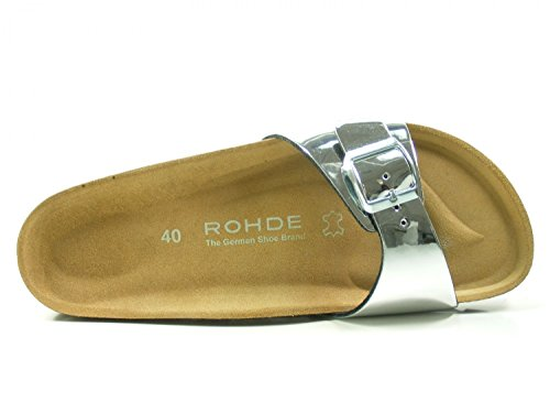 Rohde Women's Alba Mules, Braun (Kupfer) Silver (Silber 89)