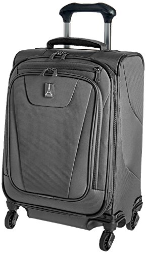 Travelpro Maxlite 4 International Carryon Spinner (One Size, Grey) by Travelpro