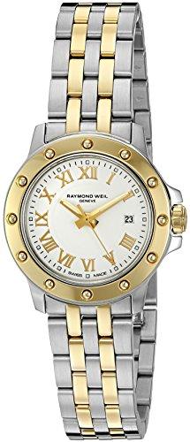 Raymond Weil Women's 5399-STP-00308 Tango Stainless Steel Two-Tone Watch