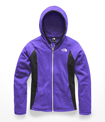 The North Face Girls Glacier Full Zip Hoodie - Deep Blue - M by The North Face