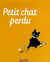 Petit chat perdu : Avec une peluche